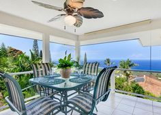 Kailua Kona Vacation Rentals - Relax and enjoy the panoramic ocean views from this 3-bedroom home just above Sunset Dr! This home is located above Sunset Dr. in Holualoa Estates and is over 1900 sq ft; giving you and your travel buddies plenty of room to move about comfortably.