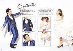 プロフィールブック見やすくておしゃれな目次のページ Wedding Book, Wedding Cards, Our Wedding, Layout Design, Web Design, Graphic Design, Photo Layouts, Diy Wedding Decorations, Wedding Images