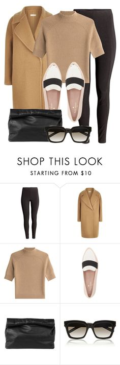"""Untitled #11803"" by vany-alvarado ❤ liked on Polyvore featuring H&M, MaxMara, Theory, Kate Spade, Marie Turnor and Yves Saint Laurent"