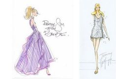 Barbie fashion show sketches