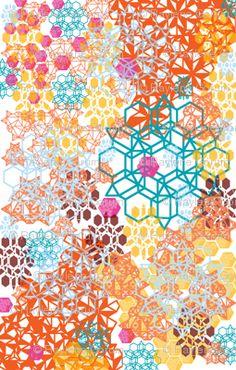 geometrics.. love the colour!