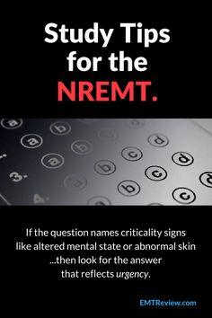 39 Best NREMT Study images in 2017 | Ems, Test Prep, Emt basic