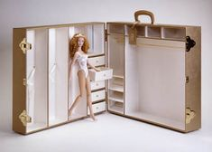 doll clothes trunk - Google Search