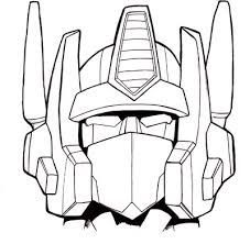 optimus prime coloring page | transformers coloring pages | pinterest - Optimus Prime Face Coloring Pages