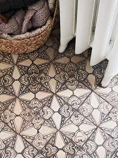 Tiles with detail are very in right now.  However, if you are planning on selling, it may be better to use something more neutral.