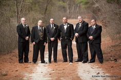 A handsome crew poses for photos with the groom. www.VersaillesCaterers.com Photo courtesy of Kaitlin Noel Photography. #bride #groom #wedding #nj #tomsriver #njwedding #reception #versaillesballroom #oceancounty #venue #banquet #banquethall