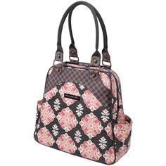 @rosenberryrooms is offering $20 OFF your purchase! Share the news and save!  Sashay Satchel Diaper Bag - Blooming Begonia #rosenberryrooms