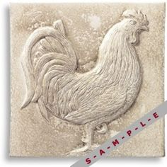 Decorative Panels Ons5 Tile The Rooster By Jeffrey Court S
