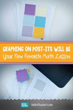 Graphing on Post-its Will Be Your New Favorite Math Lesson. Graphing on Post-its is a great way for your students to grasp the ins and outs of graphing. It will be your favorite lesson to teach! #printables #math #activities