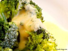 Low Carb Broccoli and Creamy Cheese Sauce Recipe (phase 1, induction)