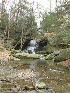 Honey Run Falls, Knox County Ohio. Photography by Marsha Casto