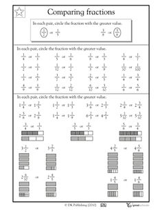 Equivalent Fractions Worksheets and more | when i grow up ...
