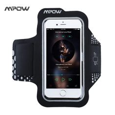 iPhone X / / 6 / 7 / 8 Armband Mpow Sport Armband Sweat-Free High-Quality Phone Armband with Headphone and Key Slots for Sports Running Jogging Walking Hiking Workout and Exercise Compatible with Samsung Galaxy Edge International Love Pitbull, Samsung Galaxy S5, Galaxy S7, High Quality Headphones, Iphone 7, Iphone Cases, Apple Iphone, Best Cell Phone, Mobile Accessories
