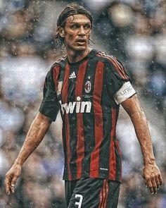 Best Football Players, World Football, Nike Football, Football Soccer, Ac Milan Kit, History Of Soccer, Paolo Maldini, Eric Cantona