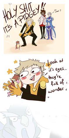 Spark loves all pokemon