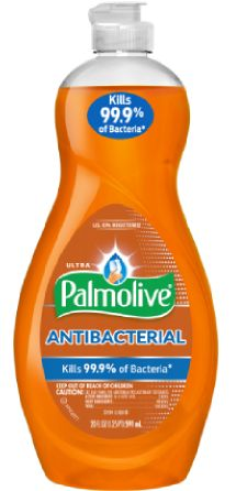 Palmolive® Ultra Antibacterial is approved to kill of E. coli, salmonella, and staph* on dishes, allowing you to wash away more than just baked on grease. Palmolive Dish Soap, Colgate Palmolive, Just Bake, Dishwashing Liquid, Dishwasher Detergent, Grease, Cleaning Supplies, Dishes, Bottle