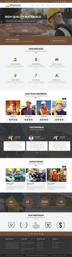construcdo construction building renovation html5 template