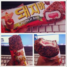 Korean ice cream.(: