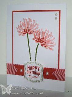 Love To Stamp: Zomaar een kaartje....