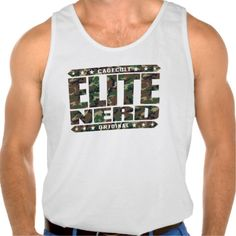 ELITE NERD - Greatest Bravest Intellectual Warrior Tanktops Tank Tops