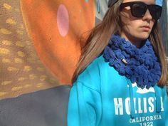 3D material scarf