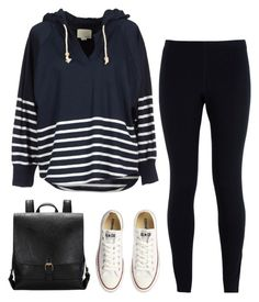 """""""""""Almost is never enough"""" """" by creationsbycristina ❤ liked on Polyvore featuring NIKE, Band of Outsiders and Converse"""