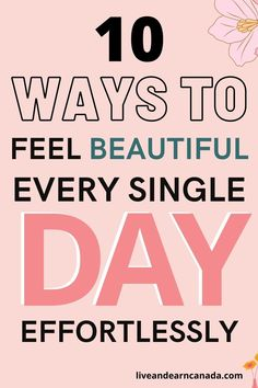 How to be pretty and how to look good every day. 10 easy good daily habits for self-care that will make you healthy and happy. These beauty tips will make you feel confident in your own skin, it's more than just beauty hacks. 10 Amazing Beauty Hacks For Your Major Problem Areas. Want to know all the best beauty hacks every girl should know? These makeup, natural skincare, and hairstyle tips and tricks for women and teens are life-changing! Just Beauty, Beauty Full, Beauty Tips, Beauty Hacks, Good Beauty Routine, Simple Makeup Tips, How To Look Better, That Look, Hacks Every Girl Should Know