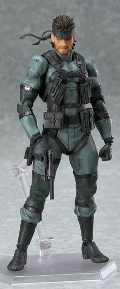 Preorders for figma Solid Snake have started.|産地直送 MAX丸見え特捜部ログ ぶっちゃけまっくす!