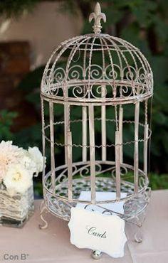 Cartas para bodas en jaulas