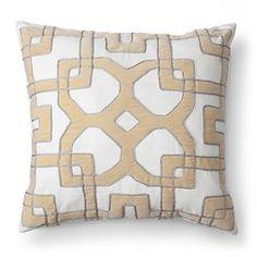 Fieldcrest® Luxury Velvet Maize Decorative Pillow - Yellow (Square)