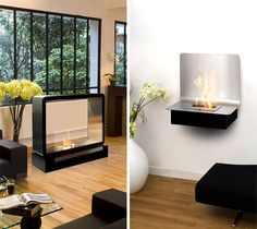 portable hearth and wall fireplaces