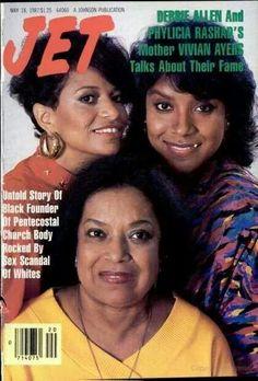 Debbie Allen, Phylicia Rashad and mother Vivian Ayers
