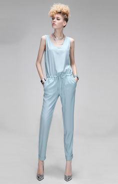 Morpheus Boutique - Blue Sleeveless V Neck Belted Celebrity Jumpsuit, CA$105.75 (http://www.morpheusboutique.com/blue-sleeveless-v-neck-key-belted-celebrity-jumpsuit/)