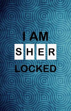 I am sherlocked - phone wallpaper Sherlock Bbc, Lol, Pattern, Movie Posters, Backgrounds, Wallpapers, Phone, Crafts, Telephone