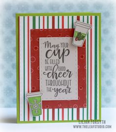 Handmade card by Lilian Forsyth using the Cup of Kindness digital set from Verve. 12 Days Of Christmas, Christmas Cards, Winter Coffee, Auld Lang Syne, Cocoa, December, Stamps, Traditional, Blog