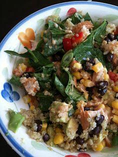 WE EAT: BBQ Chicken Quinoa Salad