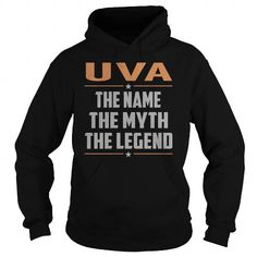 UVA The Myth, Legend - Last Name, Surname T-Shirt #name #tshirts #UVA #gift #ideas #Popular #Everything #Videos #Shop #Animals #pets #Architecture #Art #Cars #motorcycles #Celebrities #DIY #crafts #Design #Education #Entertainment #Food #drink #Gardening #Geek #Hair #beauty #Health #fitness #History #Holidays #events #Home decor #Humor #Illustrations #posters #Kids #parenting #Men #Outdoors #Photography #Products #Quotes #Science #nature #Sports #Tattoos #Technology #Travel #Weddings #Women