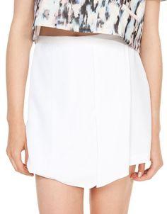 Bershka Ukraine - Bershka front layered skirt