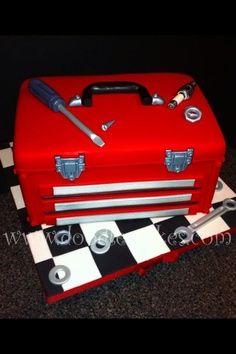 Mechanic's tool Box cake
