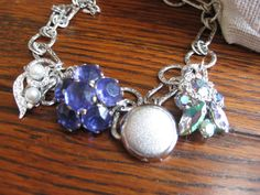 Repurposed vintage jewelry/Reclaimed by RothschildDesigns on Etsy, $45.00