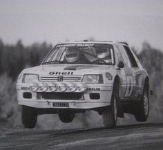 Ari Vatanen-Terry Harryman Rally 1000 lakes 1984