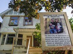 Attempts to renovate, instead of demolish, land Kitsilano family in city hall reno hell