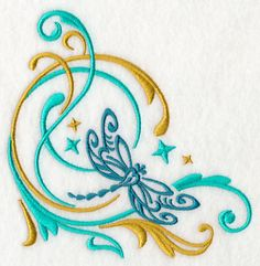 Machine Embroidery Designs at Embroidery Library! - Color Change - J6798