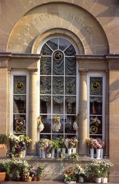 Flower Shop in Bath, UK