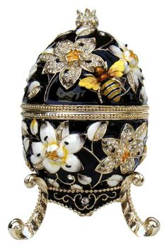 Faberge Music Egg ( Black )