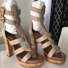 Chloe Hi heel strapped shoes New with box and dust bag hi heel ankle stap Chloe Sandal Chloe Shoes Heels