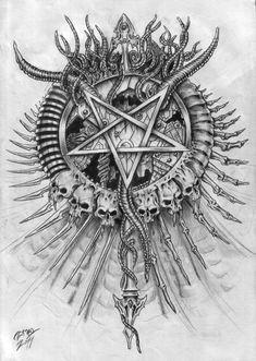 Satanic logo by ZmeyMH