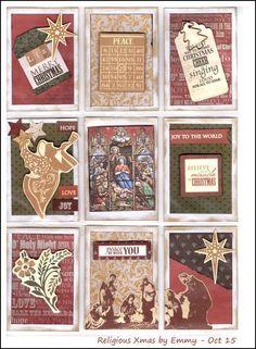 Religious Christmas by Emmy -  Advent Calendar n°3