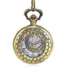 Montre a gousset dorée avec signes du zodiaque constellation Montre  Gousset, Pendule, Zodiaque, 83dad446221