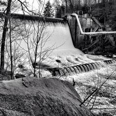 Ohio Edison Dam @ Gorge Metro Park, Photo by Instagram user a_rae_cook